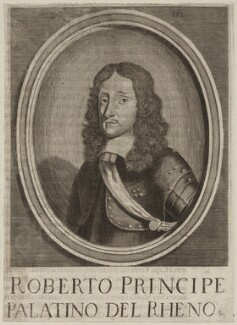 Prince Rupert, Count Palatine, after Unknown artist, possibly late 17th century - NPG D26474 - © National Portrait Gallery, London