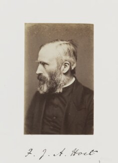 Fenton John Anthony Hort, by Samuel Alexander Walker - NPG Ax29240