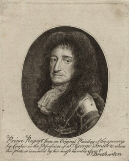Prince Rupert, Count Palatine, by James Bretherton, after  Robert Cooper - NPG D26479