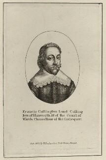 Francis Cottington, 1st Baron Cottington, published by William Richardson - NPG D26484