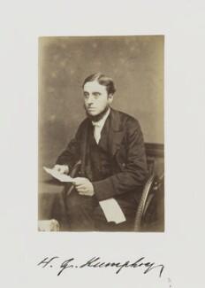 William Gilson Humphry, by Samuel Alexander Walker - NPG Ax29241