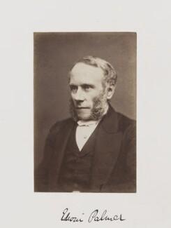 Edwin Palmer, by Samuel Alexander Walker - NPG Ax29248