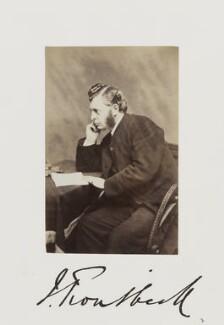 John Troutbeck, by Samuel Alexander Walker - NPG Ax29254