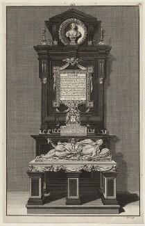 Monument to Francis Cottington, 1st Baron Cottington and Anne Cottington (née Meredith), Lady Cottington, by James Cole - NPG D26485