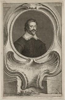 Francis Cottington, 1st Baron Cottington, by Jacobus Houbraken, published by  John & Paul Knapton - NPG D26486