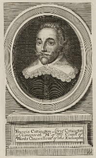 Francis Cottington, 1st Baron Cottington, possibly after Wenceslaus Hollar - NPG D26487