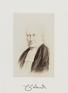 (Newell) Connop Thirlwall, by Samuel Alexander Walker, published 1874 - NPG Ax29258 - © National Portrait Gallery, London