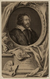 Thomas Howard, 14th Earl of Arundel, by Jacobus Houbraken, after  Sir Peter Paul Rubens - NPG D26490