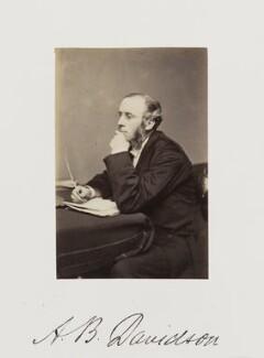 Andrew Bruce Davidson, by Samuel Alexander Walker - NPG Ax29267