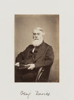 Benjamin Davies, by Samuel Alexander Walker - NPG Ax29268