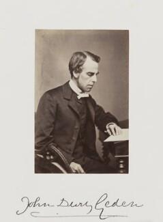 John Dury Geden, by Samuel Alexander Walker - NPG Ax29272