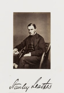 Stanley Leathes, by Samuel Alexander Walker - NPG Ax29275