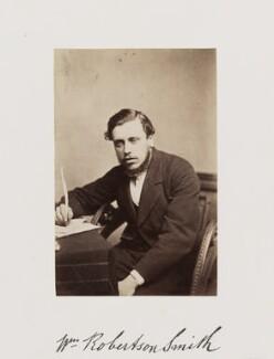 William Robertson Smith, by Samuel Alexander Walker - NPG Ax29278