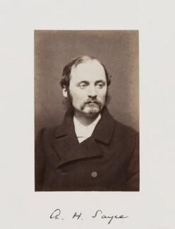Archibald Henry Sayce, by Samuel Alexander Walker - NPG Ax29280