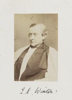 Edward Harold Browne, by Samuel Alexander Walker - NPG Ax29255