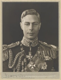 King George VI, by Dorothy Wilding - NPG x34884