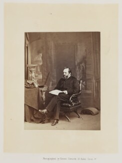 Edwin Lankester, by Ernest Edwards, published by  Alfred William Bennett - NPG Ax14759