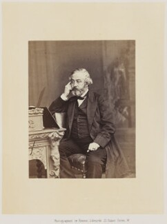 Martin Farquhar Tupper, by Ernest Edwards, published by  Alfred William Bennett - NPG Ax14774