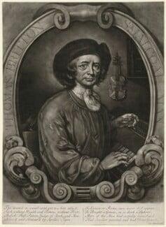 Thomas Britton, by Thomas Johnson, after  John Wollaston - NPG D32154