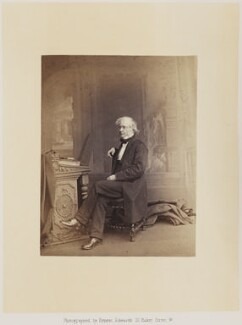 Sir William Edmond Logan, by Ernest Edwards, published by  Alfred William Bennett - NPG Ax14776