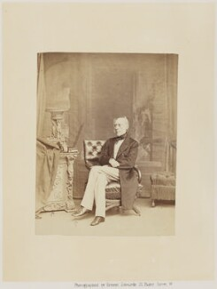 Sir James Clark, 1st Bt, by Ernest Edwards, published by  Alfred William Bennett - NPG Ax14779