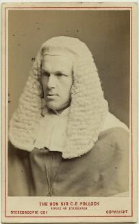 Sir Charles Edward Pollock, by London Stereoscopic & Photographic Company - NPG Ax28445