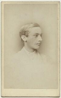 John ('Jack') Strachey, by Alexander Bassano - NPG x38546