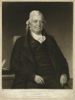 John Broadwood, by and published by William Say, after  John Harrison Jr - NPG D32157