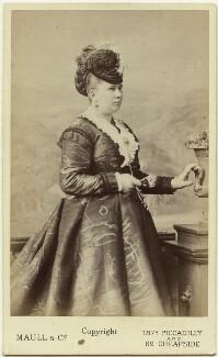 Mary Ann Orton (née Bryant), by Maull & Co - NPG Ax28454
