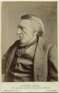 Charles Orton, by London Stereoscopic & Photographic Company - NPG Ax28425