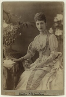 Queen Alexandra, by Henry Van der Weyde - NPG x12856