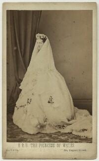 Queen Alexandra, by John Jabez Edwin Mayall - NPG x12842