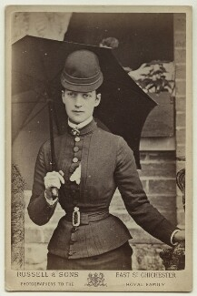 Queen Alexandra, by James Russell & Sons, August 1876 - NPG x29180 - © National Portrait Gallery, London