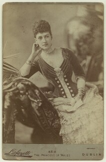 Queen Alexandra, by Lafayette - NPG x12855