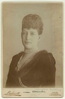 Queen Alexandra, by Lafayette - NPG x36291