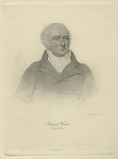 Samuel Hoare, by Sir Emery Walker, after  Joseph Slater - NPG D32158
