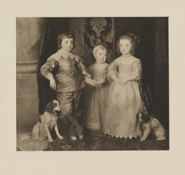Three Eldest Children of Charles I, after Sir Anthony van Dyck - NPG D32117