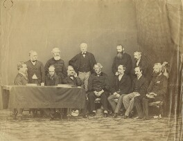 The Supreme Indian Council, Simla, possibly by Bourne & Shepherd, circa 1864 - NPG x129637 - © National Portrait Gallery, London
