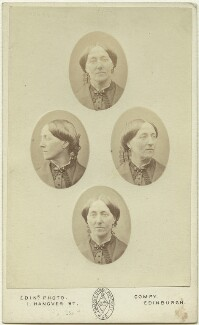 Elizabeth Vacher (née Pocock), by Edinburgh Photographic Company, late 1860s - NPG  - © National Portrait Gallery, London