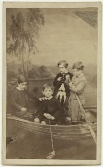 Richard Grant; Trevor Grant; John Grant; Andrew John Wedderburn Colvile, by James Ross - NPG x129641