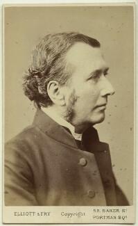 Charles John Vaughan, by Elliott & Fry - NPG Ax38625