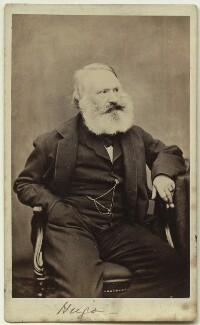 Victor Hugo, by Thomas Belsham Hutton - NPG x12877