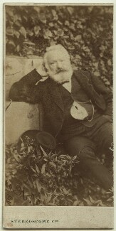 Victor Hugo, by London Stereoscopic & Photographic Company - NPG x12873