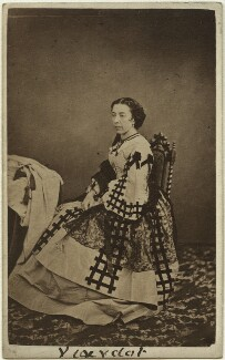 (Michelle Ferdinande) Pauline Viardot (née Garcia), by Nelson & Marshall, published by  Richard Burton - NPG x27129
