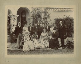 The Wedding of Oliver Strachey and Ruby Mayer, by Sidney Herbert Dagg - NPG x129644