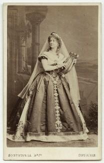 Jane Elizabeth ('Eliza') Vezin (née Thomson), by Southwell Brothers - NPG x27194