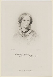 Charlotte Brontë, by Walker & Boutall, after  George Richmond, 1886 or after (1850) - NPG D32171 - © National Portrait Gallery, London