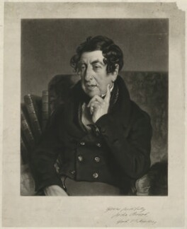 John Brook, by James Scott, after  William Etty - NPG D32174