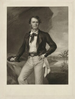 Sir James Brooke, by George Raphael Ward, after  Sir Francis Grant - NPG D32180
