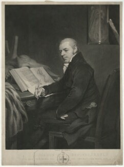 Joshua Brookes, by James Fittler, after  Thomas Phillips - NPG D32183